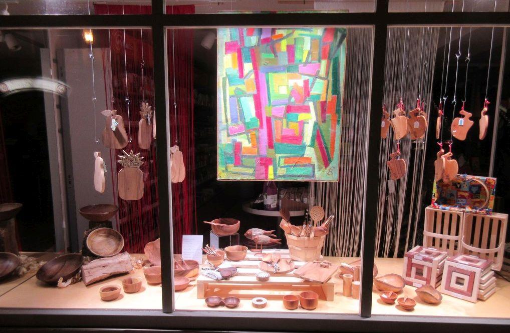 Schaufenster vom for Laden schaufenster